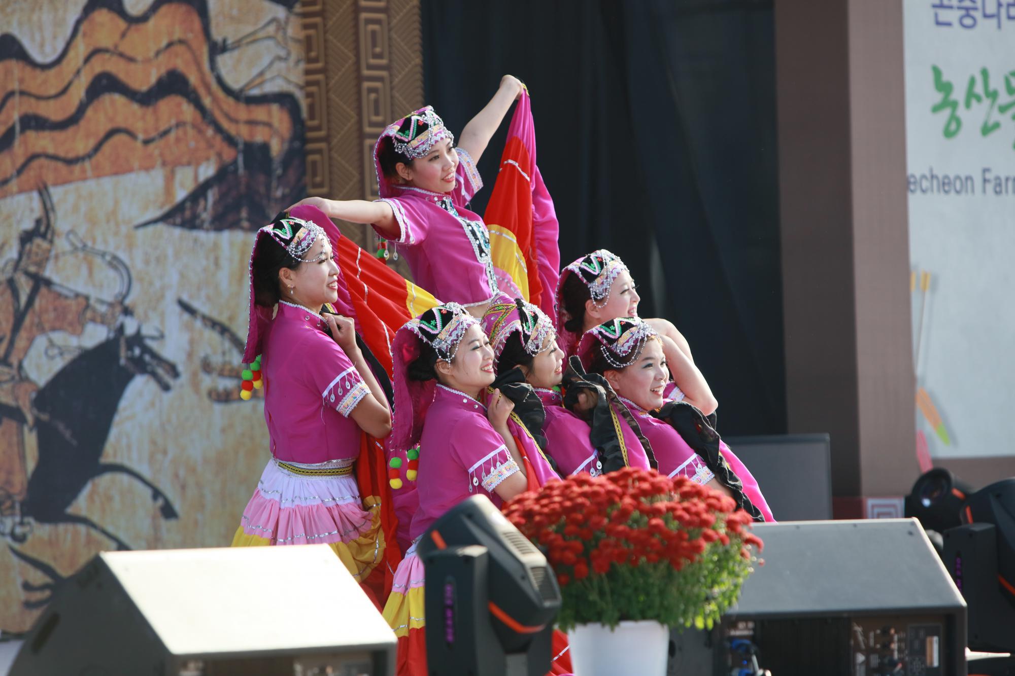 공연프로그램(중국소수민족공연)
