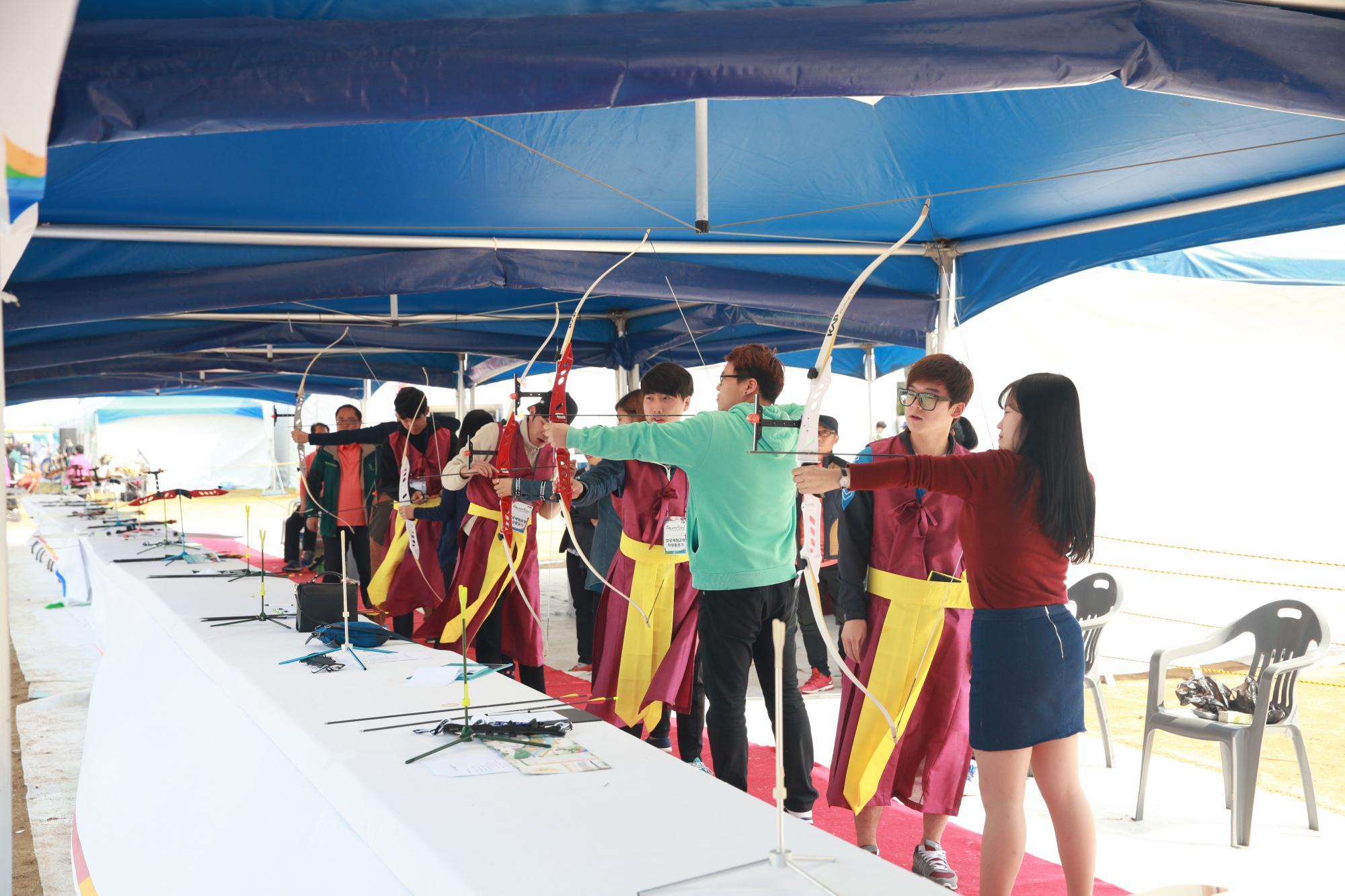 Korean bow, Wood·Crossbow, Archery and World bow experience