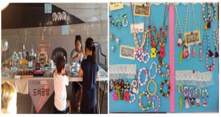 Bow necklace and bow bracelet making experience